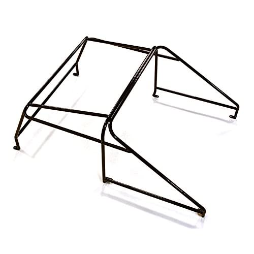 Integy RC Model Hop-ups C27216BLACK Realistic Outer Roll Cage for 1/10 D90 Pickup Gen-2 Scale Body