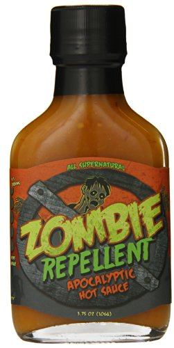 Original Juan Zombie Repellent Apocalyptic Hot Sauce, 3.75 Ounce