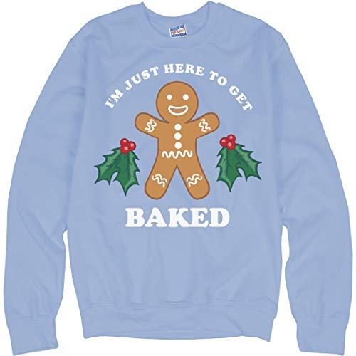 - Customized Girl Baked for Christmas: Unisex Ultimate Crewneck Sweatshirt
