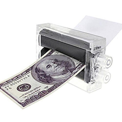 (1PC New Magic Trick Money Printing Machine Money Maker)