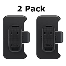 Otterbox Holster Defender Case Replacement Belt Clip for Iphone 4/4s - Black (2 Pack)