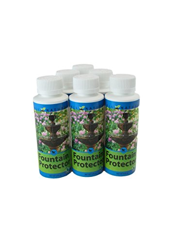 6 Pack 4 Oz Care Free Enzymes Fountain Protector Made in USA 95663D by CareFree Enzymes Inc.