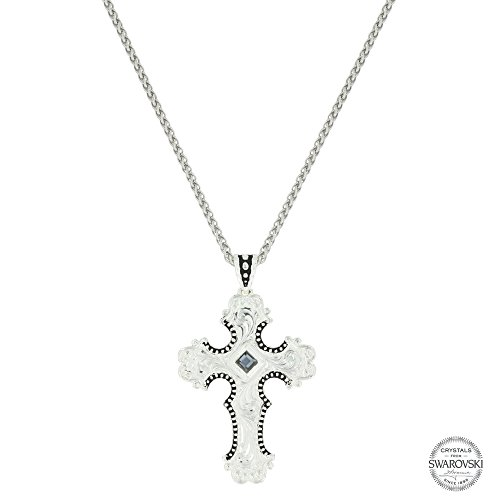Montana Silversmiths Silhouette Cross Necklace (NC3502GPT)
