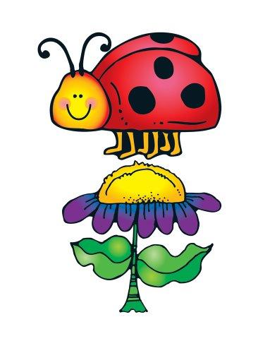 Carson Dellosa D.J. Inkers Ladybugs Bulletin Board Set ()