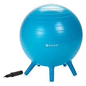 Amazon.com: Gaiam Kids Stay-N-Play Children's Balance Ball