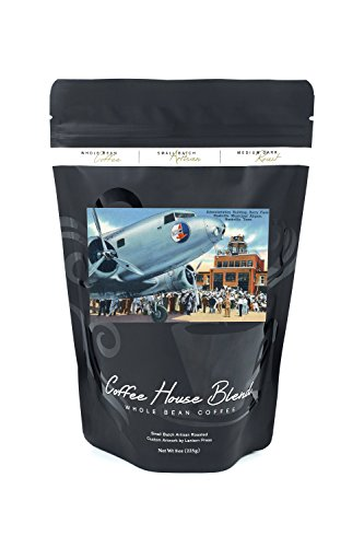 Nashville, Tennessee - Berry Field, Municipal Airport Admin Bldg View (8oz Whole Bean Small Batch Artisan Coffee - Bold & Strong Medium Dark Roast w/ - Nashville Tennessee Airport