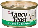 Fancy Feast Cod, Sole and Shrimp Feast Gourmet Cat Food?24-3oz.cans?, My Pet Supplies