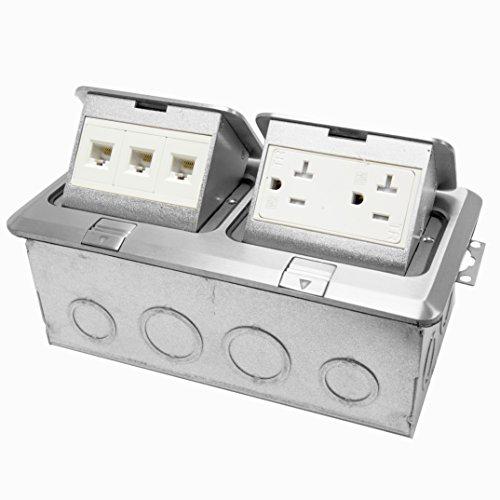 enerlites-662301-s-d-floor-box-electrical-kit-2-gang-20a-tamper-weather-resistant-duplex-receptacle-