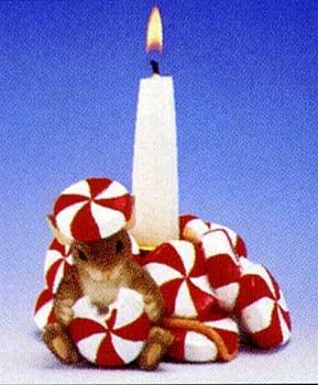 Candy Cane Candle Holder (Candy Cane Candleholder)