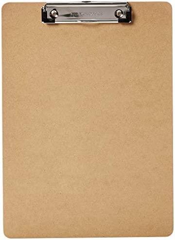 AmazonBasics DHCB001 30 Hardboard Clipboard 30 Pack