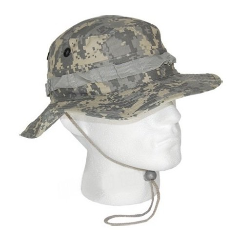 Randonn/ée Coloris AT Digital Camouflage Taille XLarge- Airsoft Boonie Hat Chapeau Brousse Jungle US Army Commando Trooper P/êche Outdoor Paintball Chasse