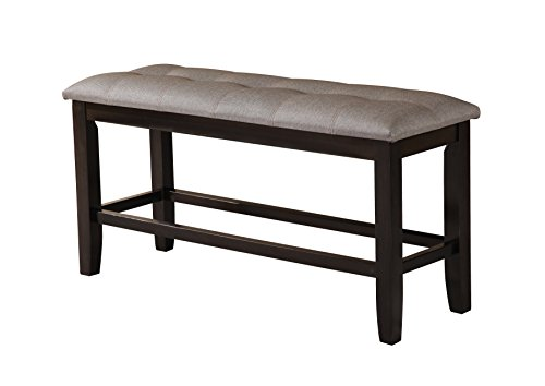 Best Quality Furniture D111B Counter Height Bench