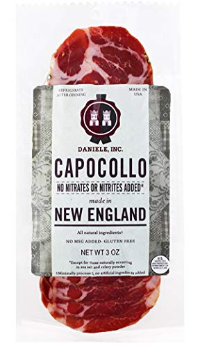Daniele New England Sliced Capocollo made in New England