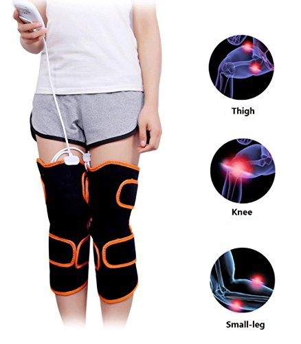 XYLUCKY Electric Heating Pad for Knee Leggings with 9 Massage Modes and 5...