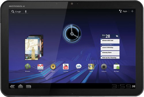 MOTOROLA XOOM Android Tablet (10.1-Inch, 32GB, Wi-Fi)
