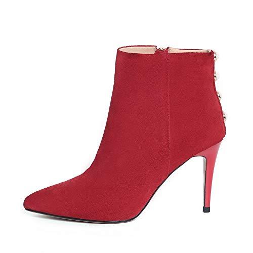 Compensées Femme Sandales Balamasa Red Abm13434 f6q787
