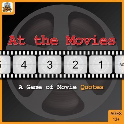 At the Movies Board Game: A Game of Movie Quotes