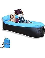 IREGRO aufblasbares Sofa New Version tragbarer Sitzsack wasserdichtes Aufblasbare Couch air Lounger Outdoor Sofa für Camping