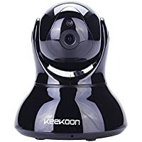 Keekoon HD IP Camera Wireless WiFi 720P Surveillance Security System Baby Monitor Pan/Tilt ,Night Vision, Two Way Audio, Motion Detection,