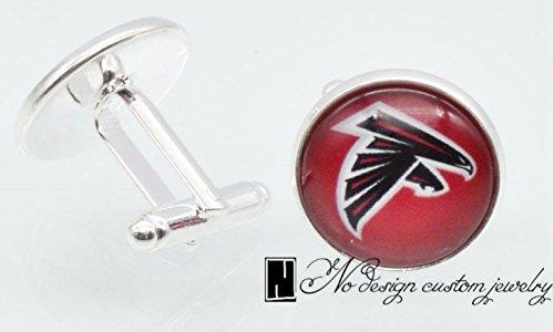 Atlanta Falcons Cufflinks - Shipped from USA - Atlanta Falcons - Atlanta Falcons Cufflinks