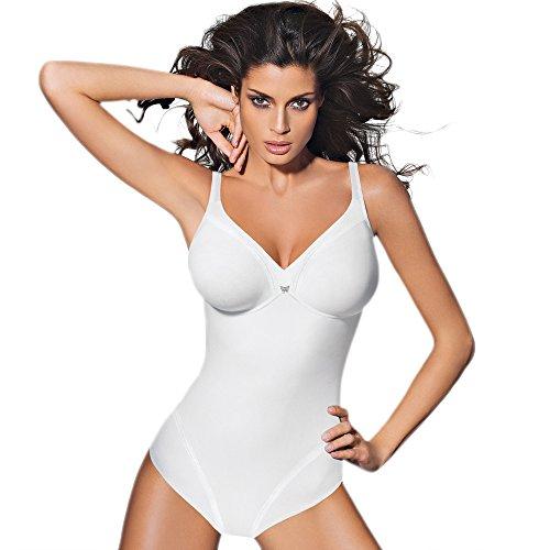 PAPILLON - Body - para mujer blanco
