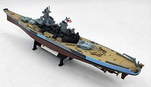 Iowa Battleship Class - FloZ WWII USA USS Missouri 1944 1/1000 diecast Model Ship Navy Iowa-Class Battleship