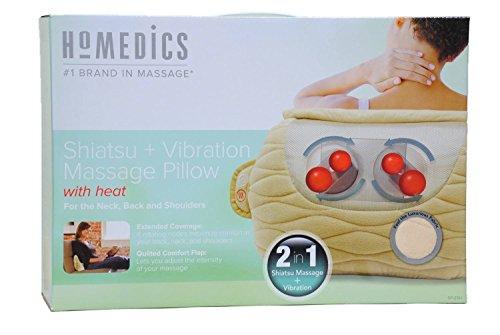 Shiatsu Massage Therapy (HoMedics Shiatsu Plus Vibration Massage Pillow)