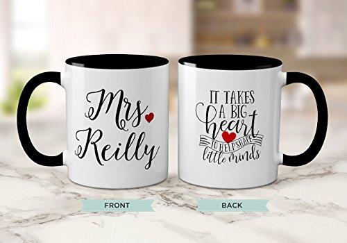 Personalized Teacher Mugs - Teacher mug with phrase