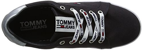 Azul para 403 Jeans Mujer Flatform Tommy Midnight Zapatillas Sneaker PZwOqYx
