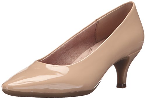 ardom Dress Pump, Nude Patent, 5 M US ()