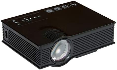 ZYN-RN Mini Proyector Uc40 Portátil Proyector de Video Negro Mini ...