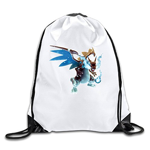 Price comparison product image LCNANA Poke Mega Charizard Fashion One Size Rope Bag