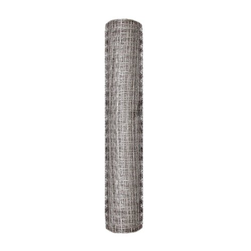 50-Foot x 24-Inch Gray Plastic Poultry Netting With 1-Inch Openings ()