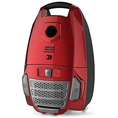 American Micronic- AMI-VCC-2200WDx-2200 Watts Imported Vacuum Cleaner with HEPA Filter and 100% Copper Motor 32KPa Suction (Red) 8