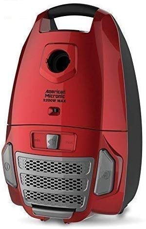 American Micronic- AMI-VCC-2200WDx-2200 Watts Imported Vacuum Cleaner with HEPA Filter and 100% Copper Motor 32KPa Suction (Red) 1