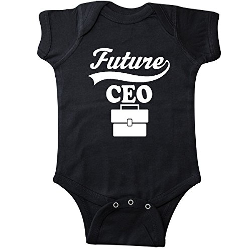 inktastic - Future CEO Shirt Childs Boss Infant Creeper 18 Months Black 26a0a