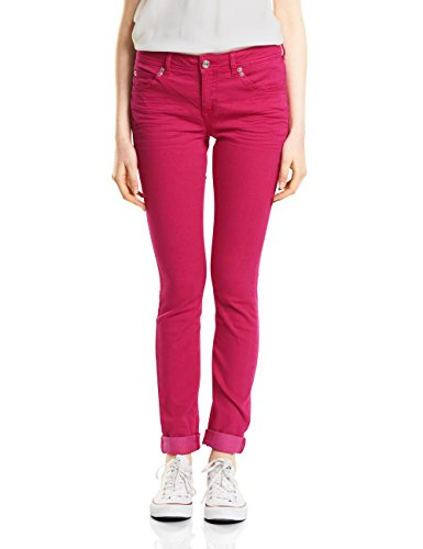 Street One Vaqueros Slim para Mujer Rosa (Carribean Pink Washed 11387)