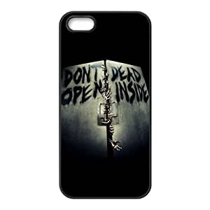 Don't Dead Open Inside Scary Pattern Brand New And Custom Hard Case Cover Protector For Iphone 5s