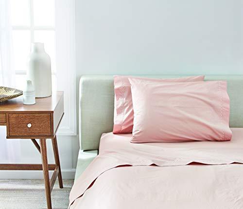 (Splendid Home Collection Sheet Set Queen Pink Beige)