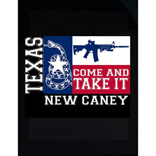 KewlCover New Caney Texas Come and Take It Ar15 - Transparent Sticker