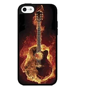 diy phone caseFire Guitar Hard Snap on Phone Case (iphone 4/4s) Designed by HnW Accessoriesdiy phone case