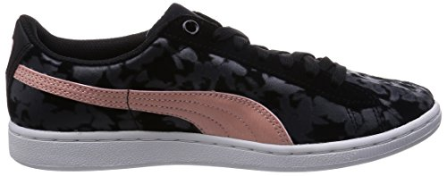 Puma Vikky F5, Women's Low-Top Sneakers Black (Black/Coral Cloud Pink)