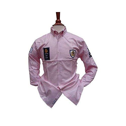 Cotton Park–Hemd Sport 'Patch Yachting'–Rosa–Herren