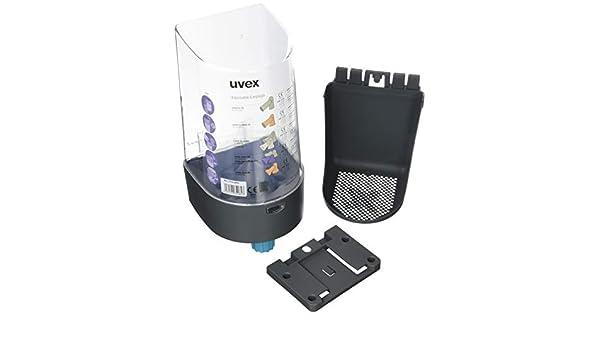 Uvex uvex2112000 one2click dispensador de tapón para los oídos, color gris: Amazon.es: Amazon.es
