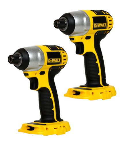 Dewalt DC825 2 Pack 18V 1/4'' Hex Cordless Impact Driver New (Bare Tool) by DEWALT