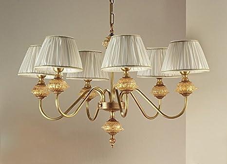 Kronleuchter Antik Gold ~ Il paralume marina murano glas kronleuchter daniela in antikgold