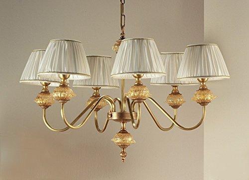 Lampadario Antico Murano : Lampadario a otto luci lampadario antico