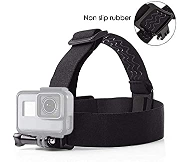 Amazon.com: vvhooy elástica ajustable Head Strap Mount con ...