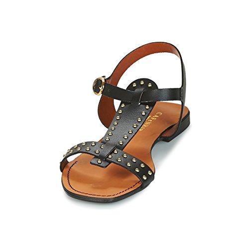 Avec 010 Nero Kgc158 E18 Des Noir Goujons Sandal Cafè 0twgxqFn