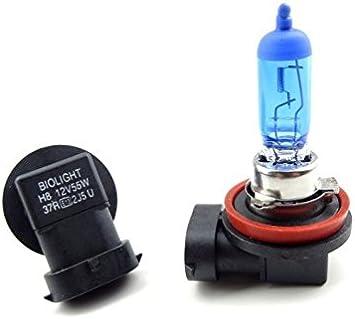 2x H8 35w 6000k 12v Pgj19 1 E13 Halogen Lampen Xenon Effekt Auto